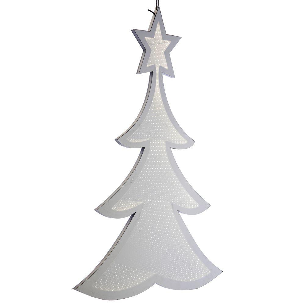 67305 Y NG SVETLEĆA 3D LED JELKA LEDENO BELA 30cm