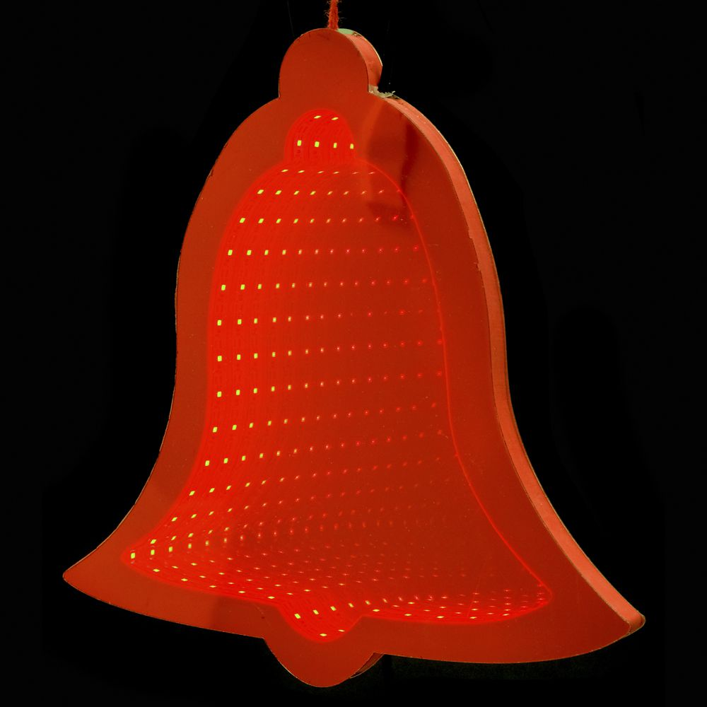 67316 Y NG SVETLEĆE 3D LED ZVONCE CRVENO 20cm