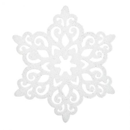 2706750311 DEKORACIJA PAHULJA BELO-SREBRNA