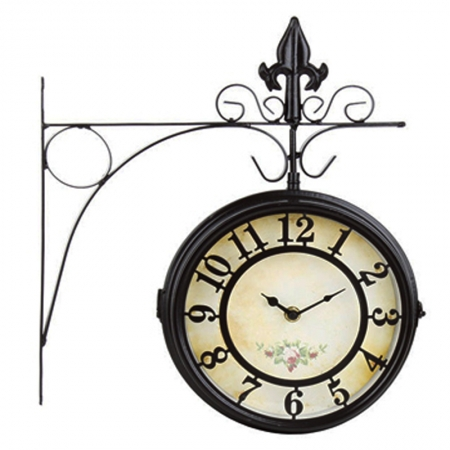 3250210008  METAL WALL CLOCK