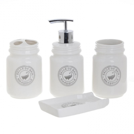3654940023 SET ZA KUPATILO OD PORCELANA S/4
